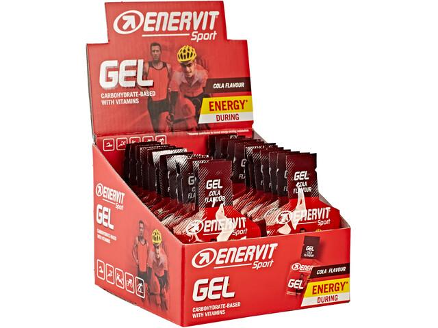 Enervit Sport Gel Caja 24x25ml, Cola